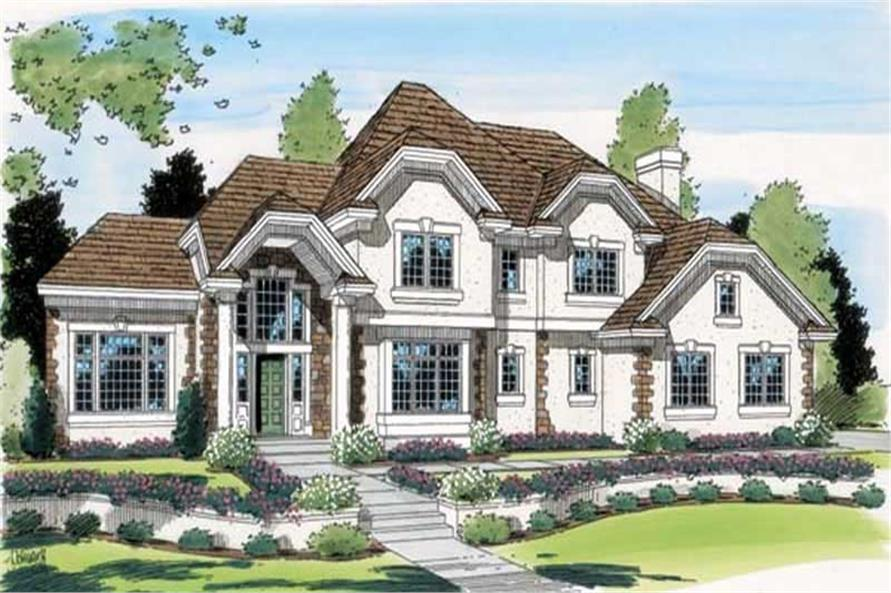 Main image for house plan # 20037