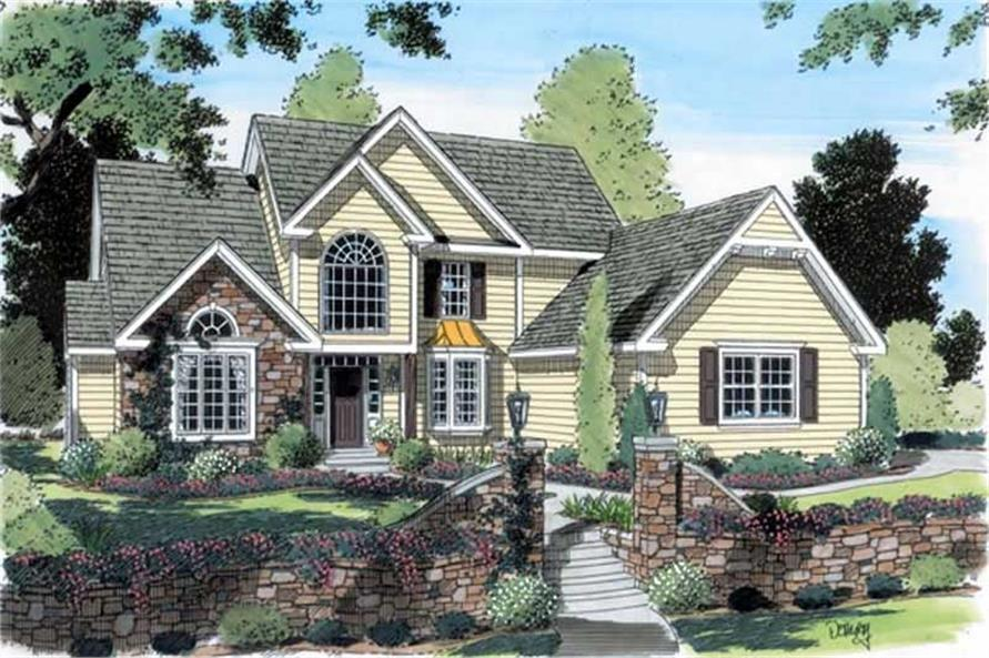 Main image for house plan # 20057