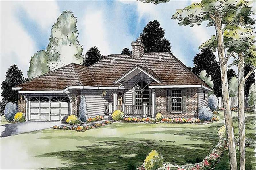 Main image for house plan # 19897