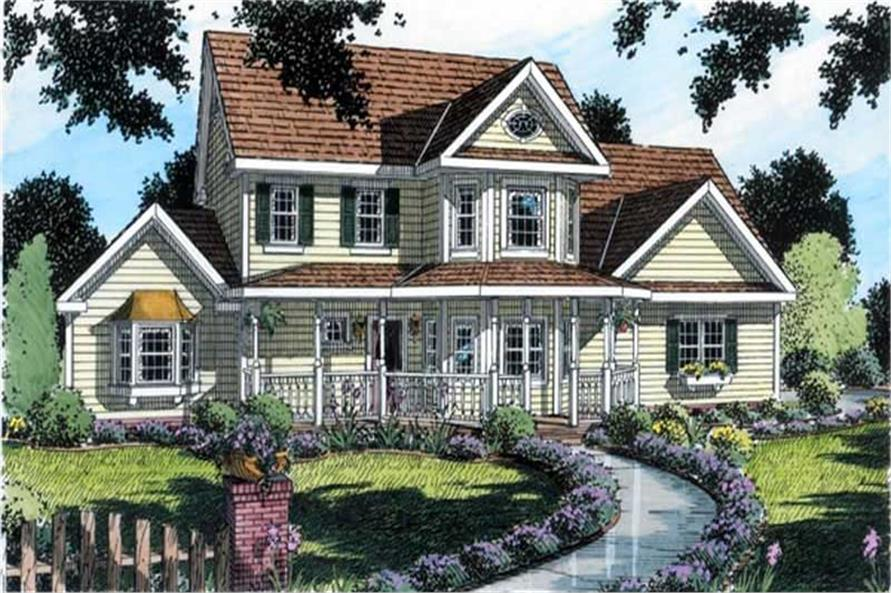 Main image for house plan # 20088