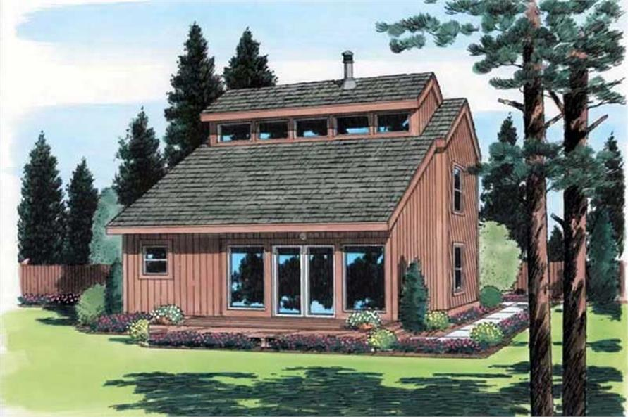 Main image for house plan # 19946