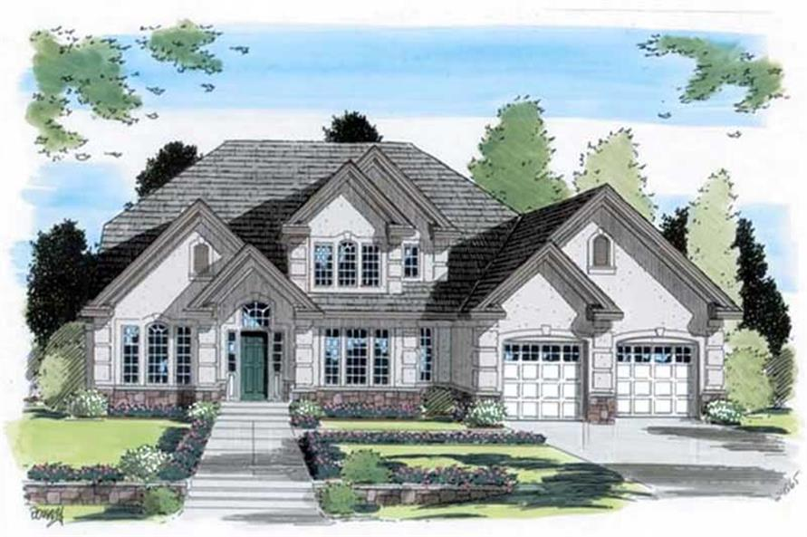 Main image for house plan # 20007