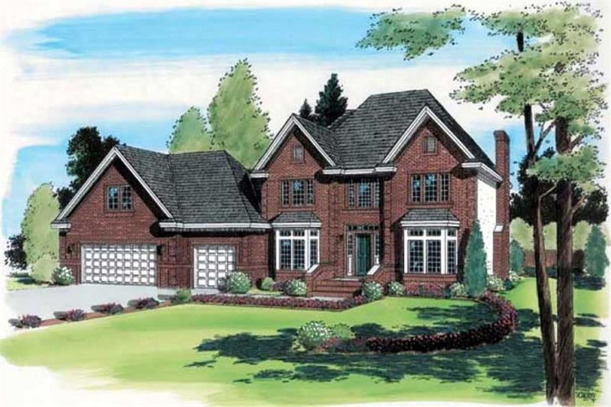 Main image for house plan # 19993