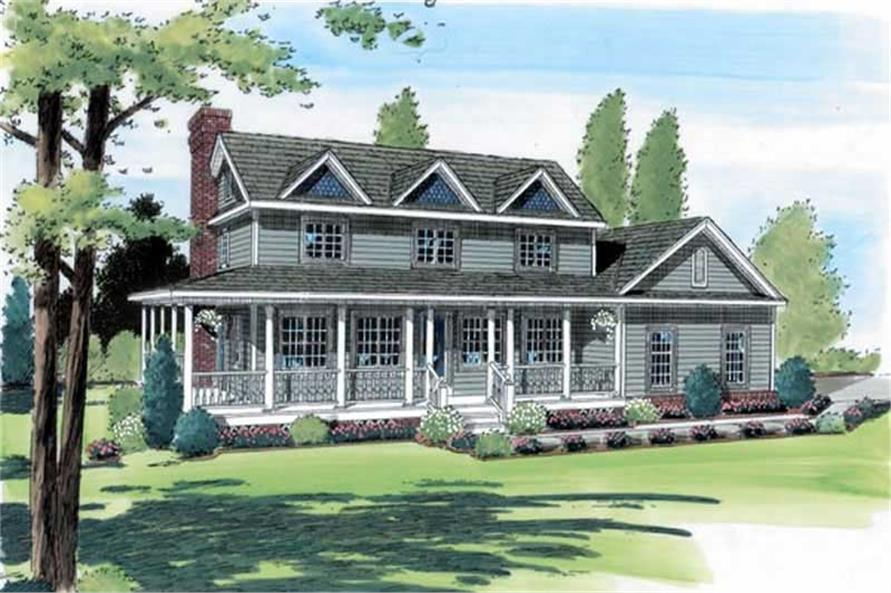 Main image for house plan # 19983