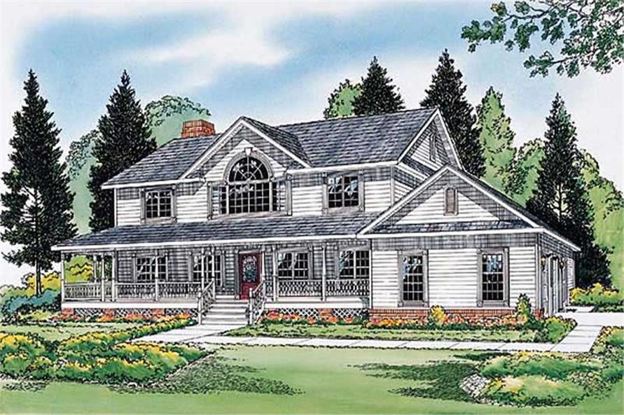 Main image for house plan # 19978