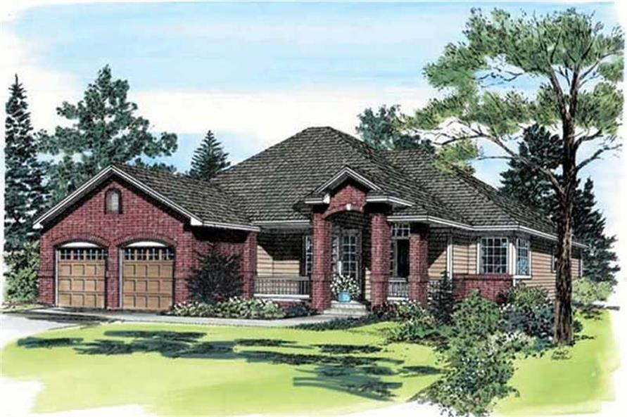 Main image for house plan # 19934