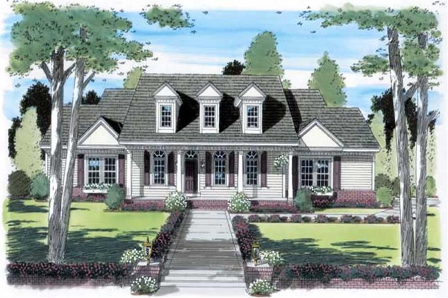 Main image for house plan # 19927