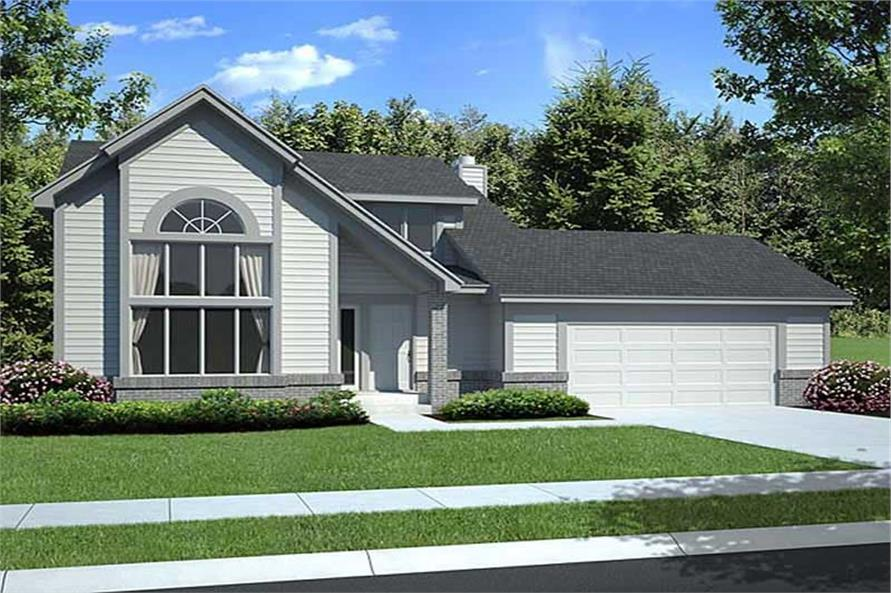 Main image for house plan # 19911