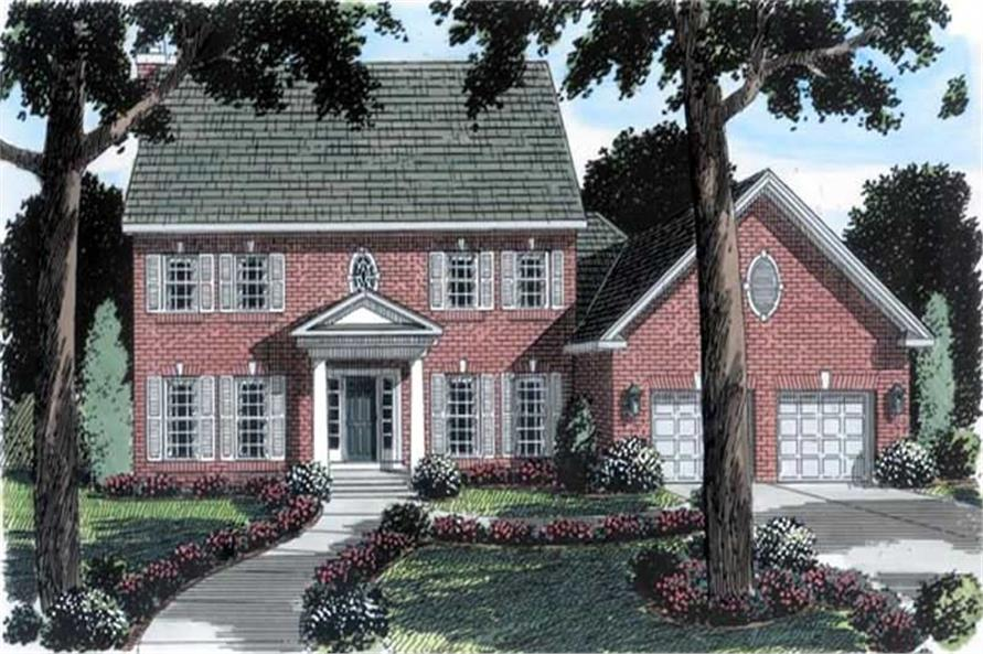 Main image for house plan # 19904