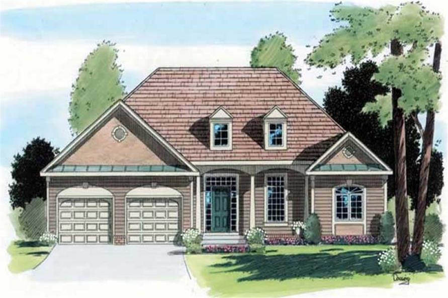 Main image for house plan # 20073