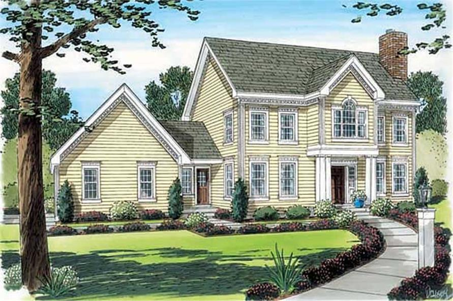 Main image for house plan # 20104