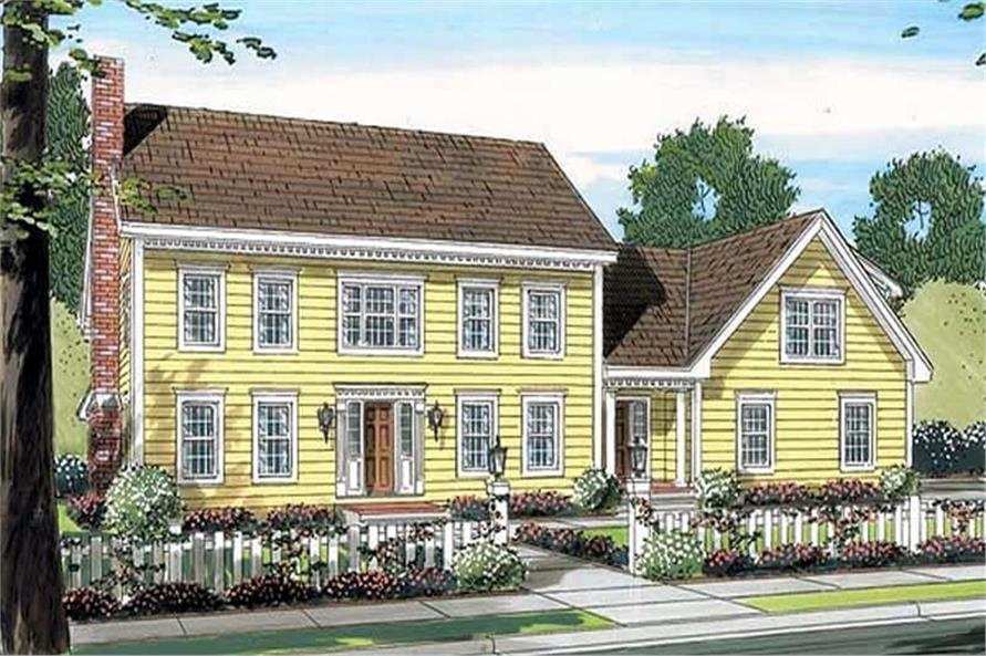 Main image for house plan # 20103