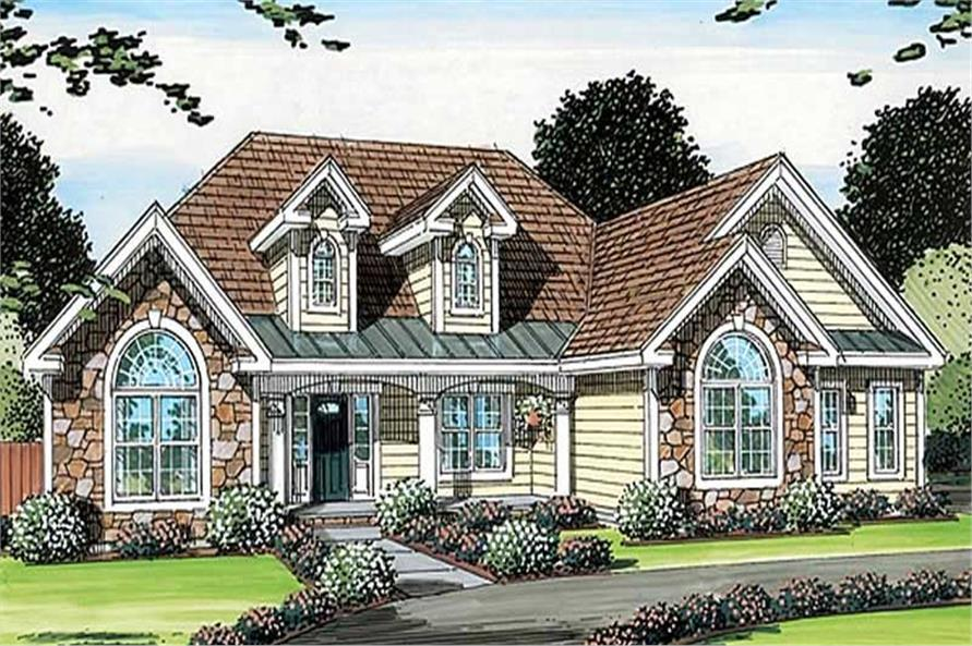 Main image for house plan # 20100