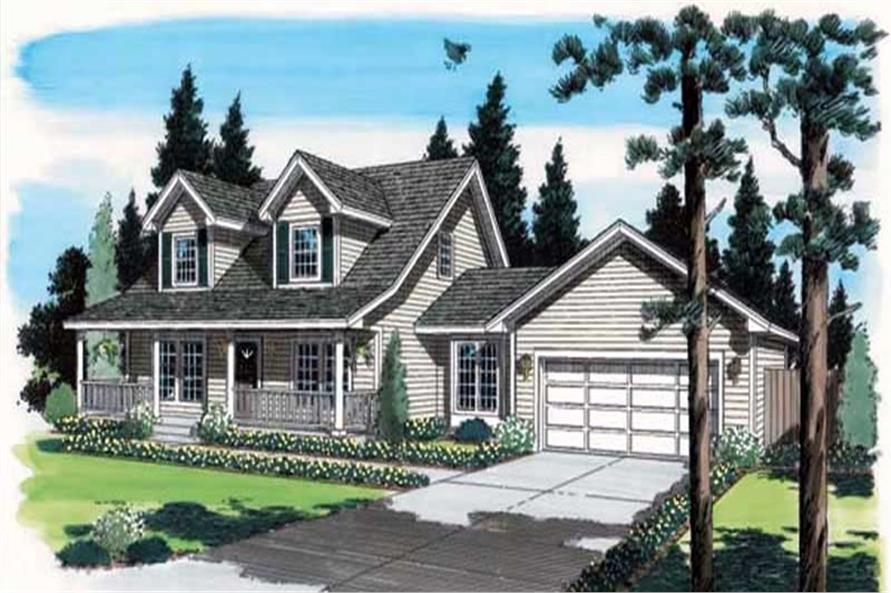 Main image for house plan # 20175