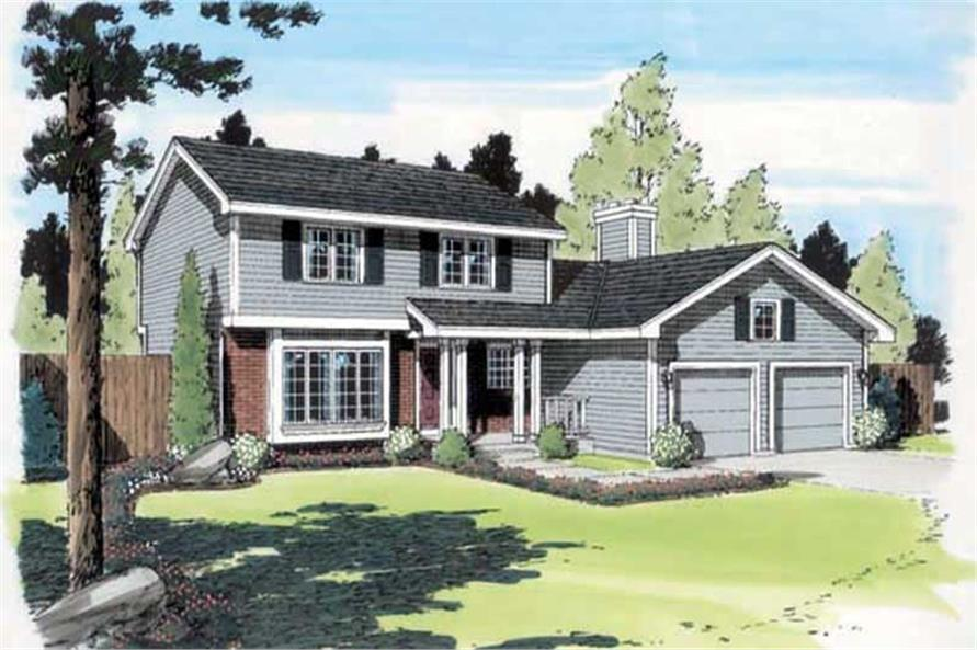 Main image for house plan # 20158