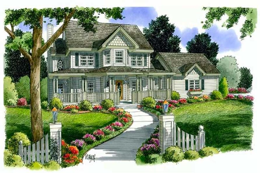 Main image for house plan # 20087