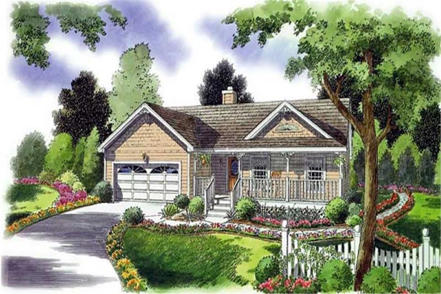 Main image for house plan # 20078