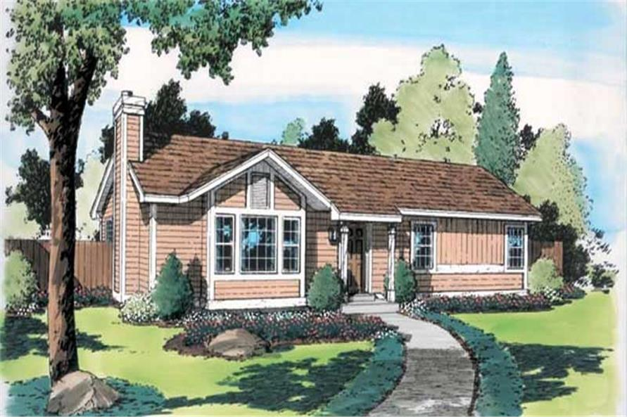 Main image for house plan # 20161