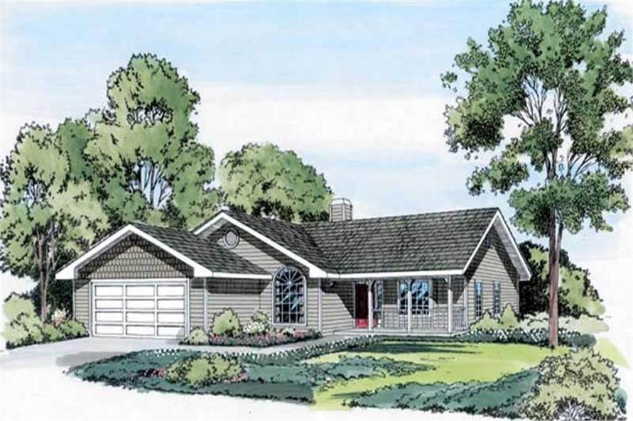 Main image for house plan # 20162