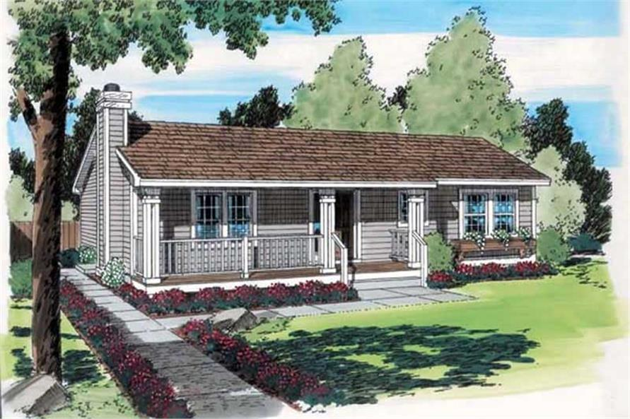 Main image for house plan # 20160