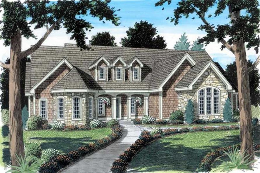 Main image for house plan # 20121