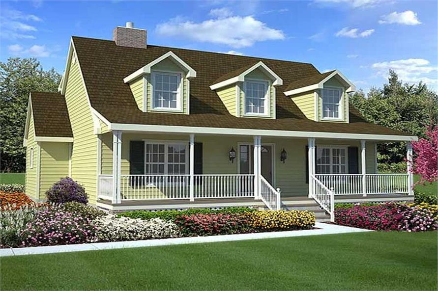 Main image for house plan # 20166