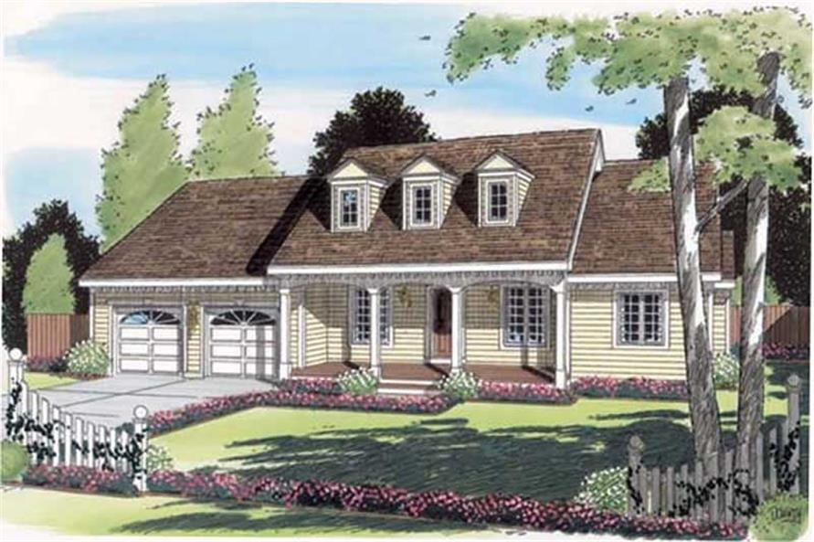 Main image for house plan # 20076