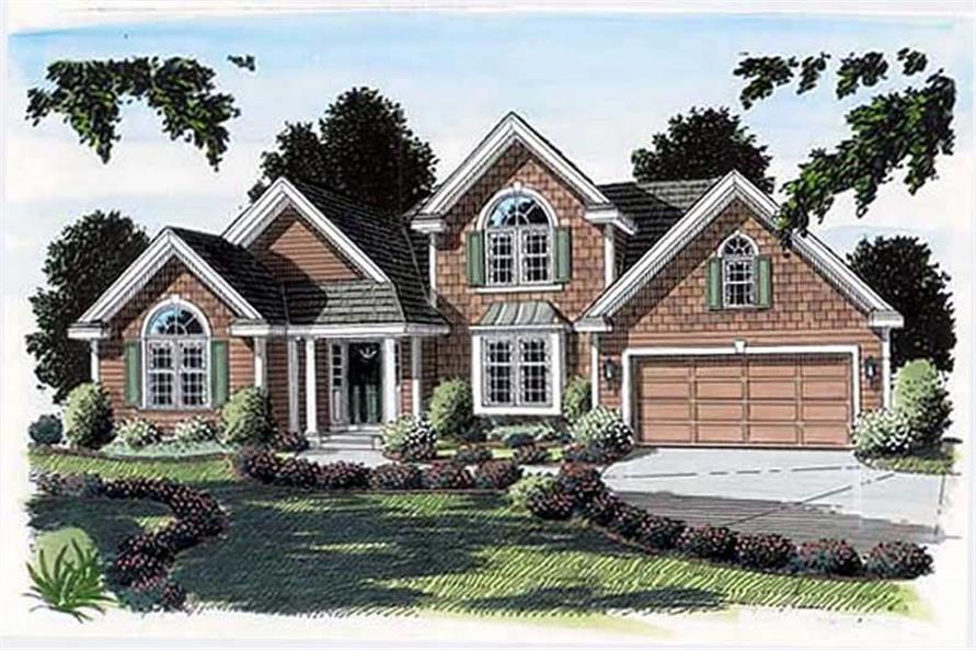 Main image for house plan # 20091
