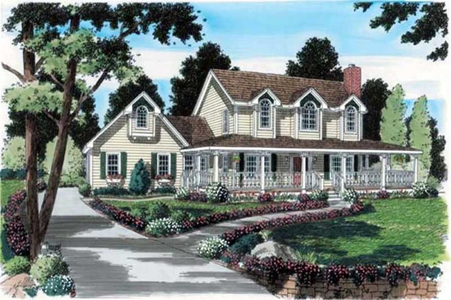 Main image for house plan # 20086