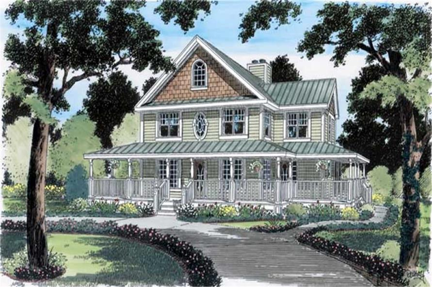 Main image for house plan # 20080