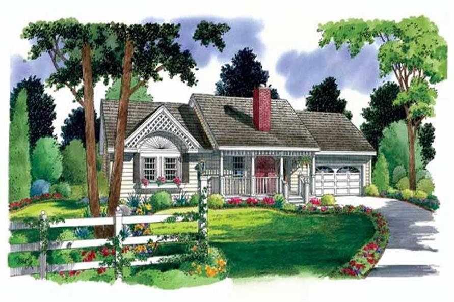 Main image for house plan # 20079