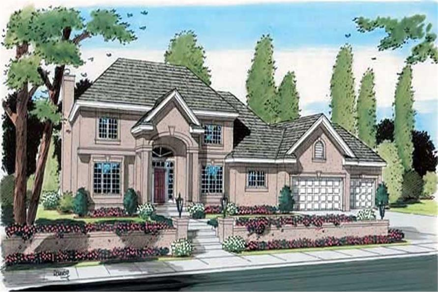Main image for house plan # 20031