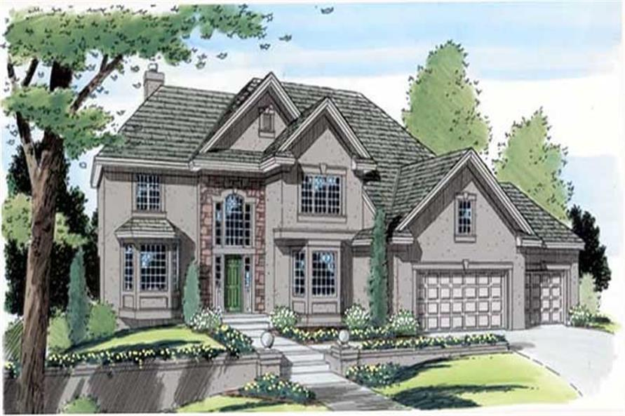 Main image for house plan # 20029