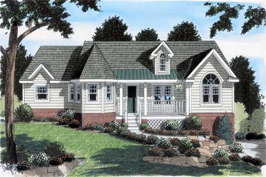 Main image for house plan # 20093