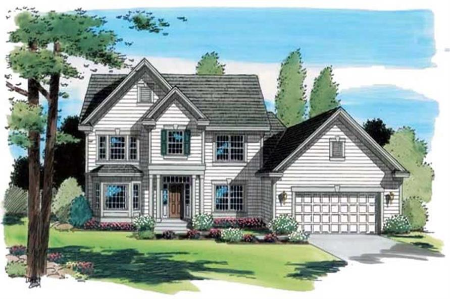 Main image for house plan # 20021