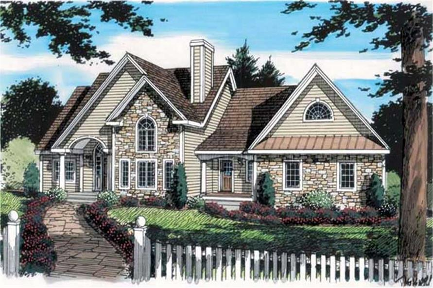 Main image for house plan # 20094