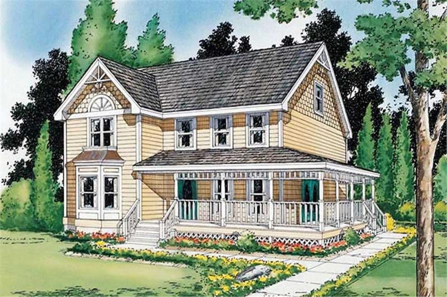 Main image for house plan # 19939