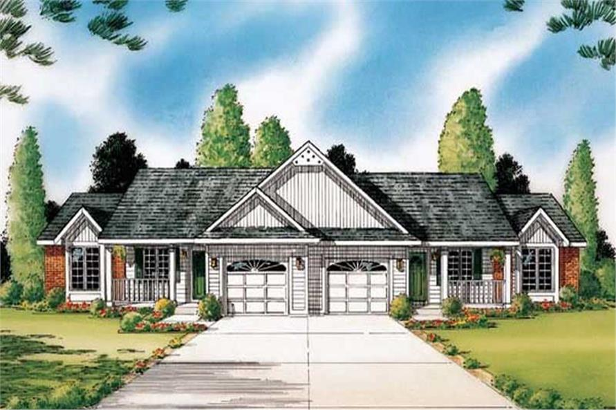 Main image for house plan # 19925