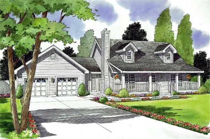 Main image for house plan # 20071
