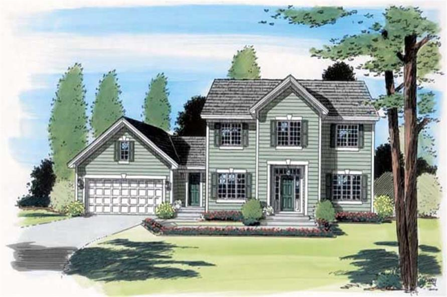 Main image for house plan # 20022