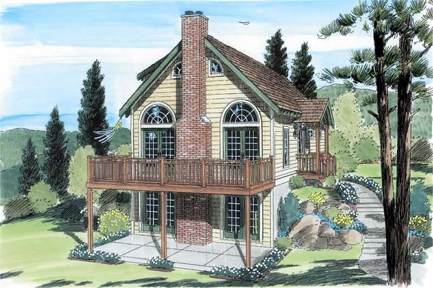 Main image for house plan # 20062