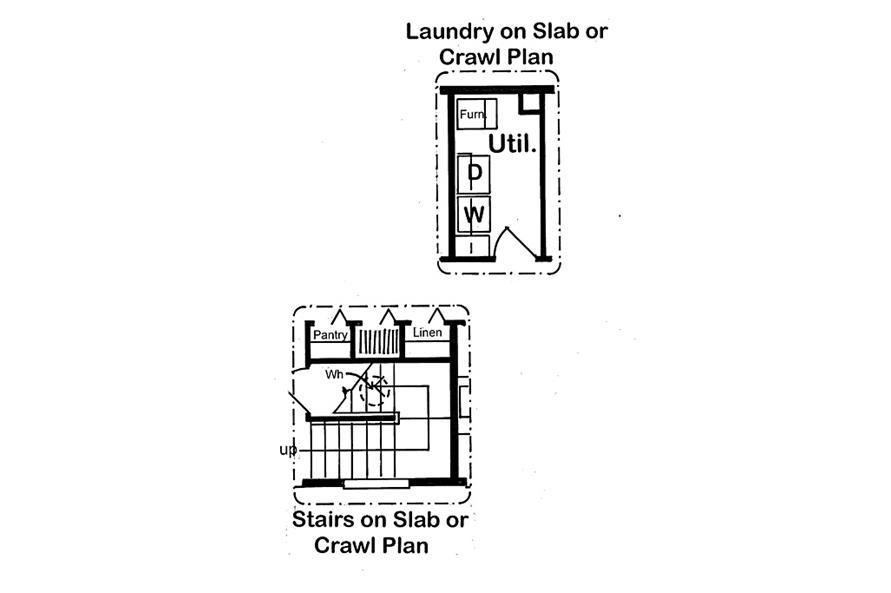 131-1139 optional foundation layouts