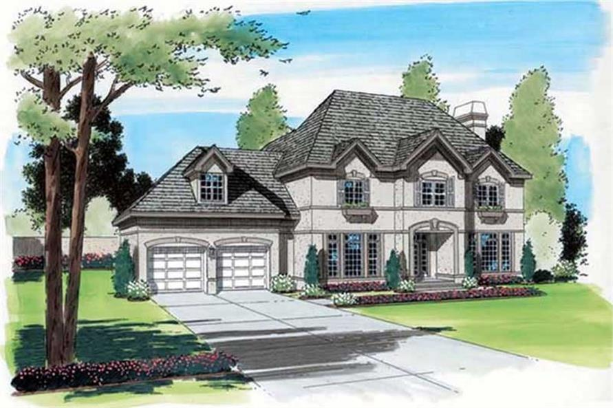 Main image for house plan # 20044