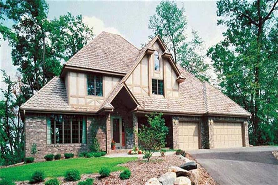 Main image for house plan # 20156