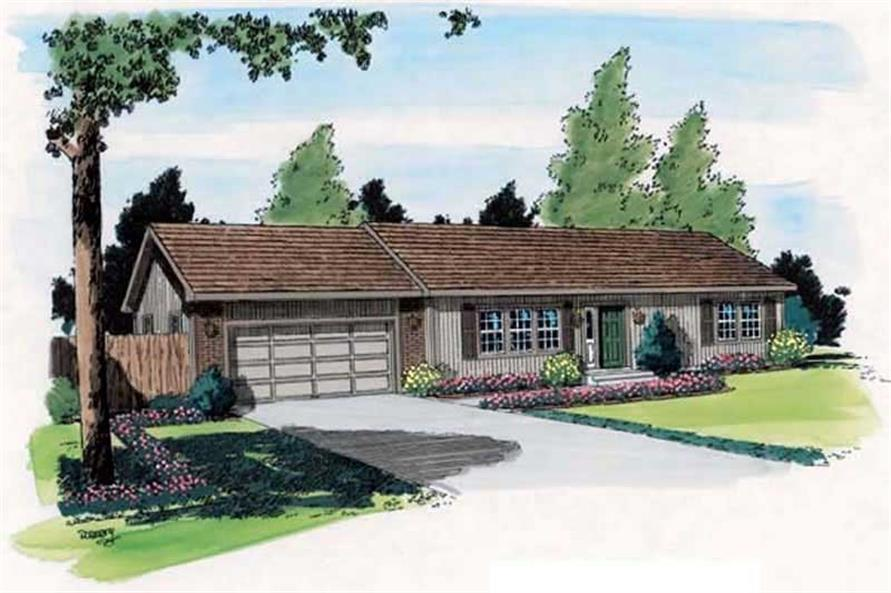 Main image for house plan # 20138