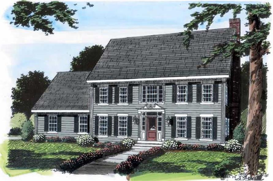 Main image for house plan # 20135