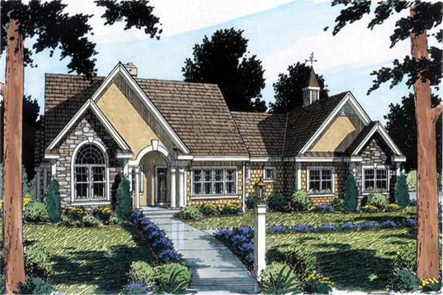Main image for house plan # 20122