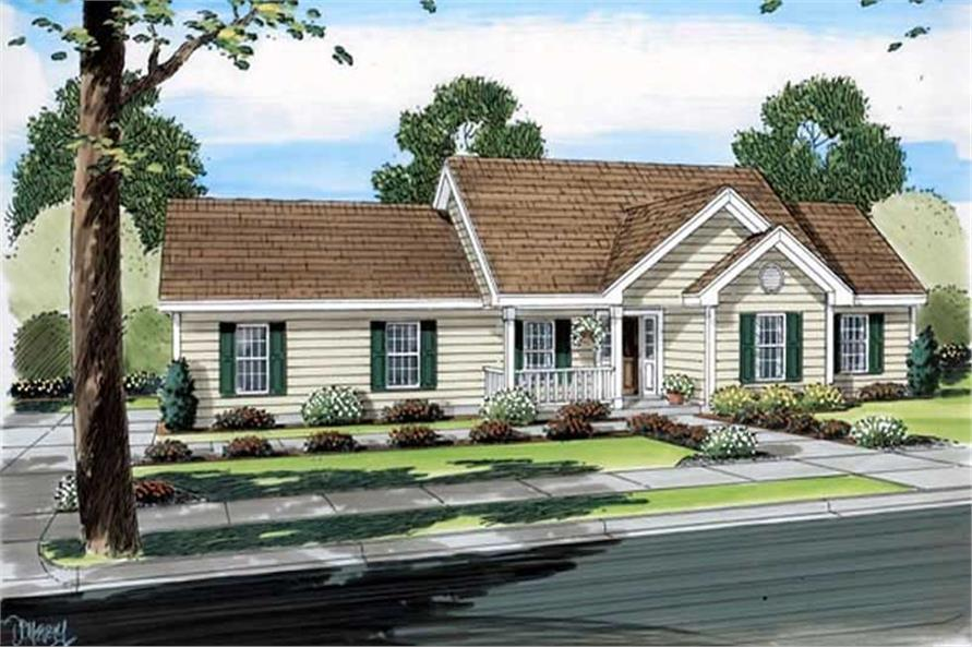 Main image for house plan # 20099
