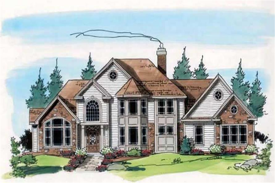 Main image for house plan # 20126