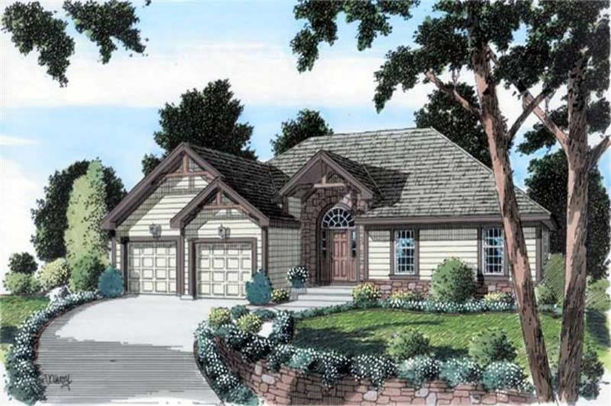 Main image for house plan # 20081